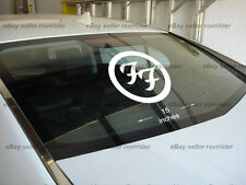 LARGE foo fighters decal sticker for car or truck