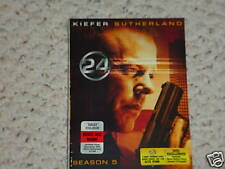 24 - Season 5 Keifer Sutherland DVD NEW Factory SEALED