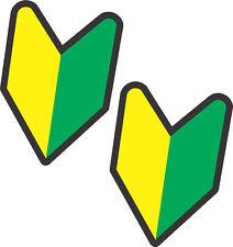 # JDM Wakaba Leaf Stickers - Small - 2 Pack  - Soshinoya