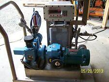 American Lewa EK1 Metering Dosing Pump & Stober R27 Variable Speed Drive on Cart