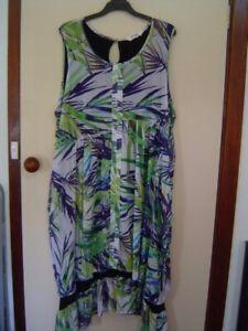 Quality Sue LONG LINED VIRTUELLE/TS 14+ TAKING SHAPE DRESS  Plus size 24