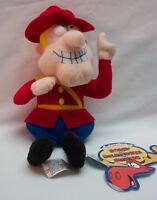 """Rocky and Bullwinkle DUDLEY DO RIGHT OF THE MONTIES 9"""" Plush STUFFED Toy"""