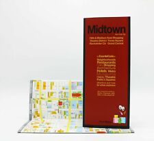 Red Maps New York City - Midtown - CURRENT EDITION - City Travel Guide