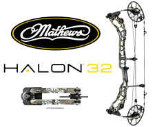"""Mathews Halon 32 Right Hand 31"""" Draw 60# to 70# Compound Hunting Bow - Elevated"""