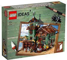 Playset OLD FISHING STORE Negozio Pesca VINTAGE Originale LEGO Ideas 21310 MIB