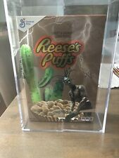 Travis Scott Reeses Puffs Cereal Special Edition Acrylic Box Brand New Confirmed