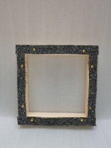 Rug hooking frame / Punch needle frame 30 x 30 cms