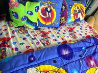 Lisa Frank GUMBALLS 1987 Bedsheets VINTAGE RARE!!!! FULL SIZE VHTF