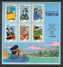 FRANCE 2007...Miniature.Sheet n° 109  MNH **...Les voyages de Tintin