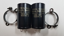 Black Gate SKZ WKZ 47 + 47 uF 500 VDC Hi-End Audio Capacitors Pair