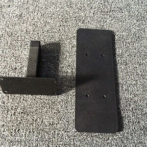 Nordic Track   Hip Pad Support Bracket With Backplate Powder Coated Black