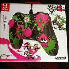 Nintendo switch  splatoon 2  wired controller fast delivery new sealed  birthday