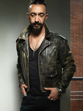 Vtg AVIREX Patina Distressed Leather Jacket buco schott langlitz Size M 44 (CP)