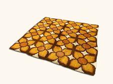 Superbe tapis en laine  !!  vintage Année 70's