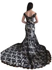 Christian Dior by John Galliano Sheer Black  Lace  Dress Sz F 38 USA 6