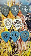 WHITESNAKE Doug Aldrich/Reb Beach 8-guitar pick SET - VENOMOUS PRICE