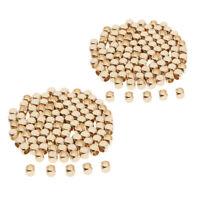 100x  Zwischenperlen Bastelperlen Schmuck Würfelperlen für Armband Halskette