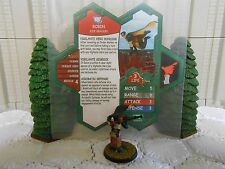 Heroscape Custom Robin Dick Grayson Double Sided Card & Figure w/ Sleeve DC