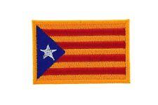 Parche bandera Catalán backapck PATCH bordado estrelada blava  catalunya