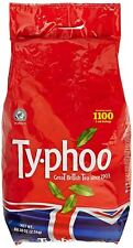 Typhoo Tea Bags 1100 1 Cup Teabags 2.5kg Office Catering Supplies Bulk