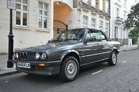 BMW E30 320i CONVERTIBLE - Superb Condition