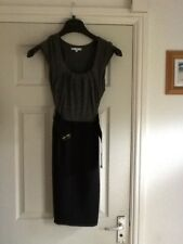 Ladies size 12 Store Twenty One grey and black dress
