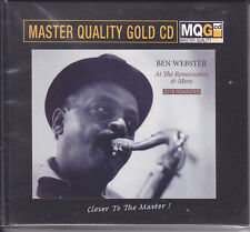 Ben Webster At The Renaissance & More Master Quality Gold CD MQGCD MQG Numbered