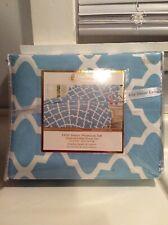 Lux Decor Light Blue Queen Sheet Set Deep Pockets