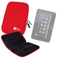 """Red Hard Case For Kurio 7S & Kurio 7"""" CL1100 Android Tablet For Kids"""