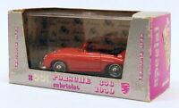 Brumm 1/43 Scale Diecast Model Car S001 - 1950 Porsche Cabriolet - Red