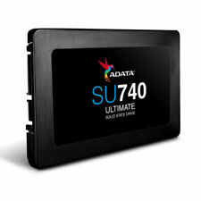 "ADATA Ultimate Series SU740 500GB, SATA 3, 2.5"" Internal Solid State Drive (ASU740SS500GR) - Black"