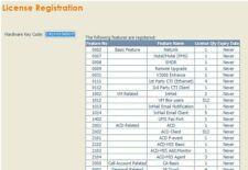 Licenses for NEC SV8100 PBX