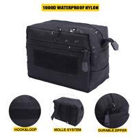 Tactical 1000D Nylon Molle Pouch Men Waist Bag Utility EDC Gear Belly Pouch Case
