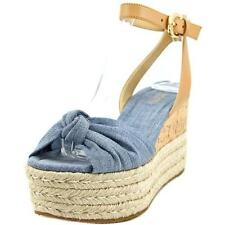 Sandalias y chanclas de mujer azul Michael Kors