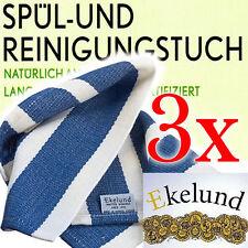 3x Ekelund Spültuch Reinigungstuch Haushaltstuch Greenclean Spültücher NEU