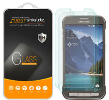 2X Supershieldz Tempered Glass Screen Protector For Samsung Galaxy S5 Active
