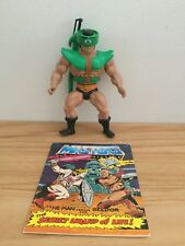 1981 He-man Masters Of The Universe Tri-Klops Action Figure Complete Comic