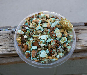 royston turquoise! 555 grams! natural small/midsize specimens! fifty cents/gram!