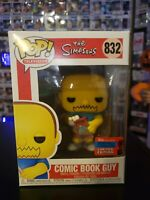 Comic Book Guy 2020 NYCC Shared Hot Topic Exclusive Funko POP! #832 *Mint*