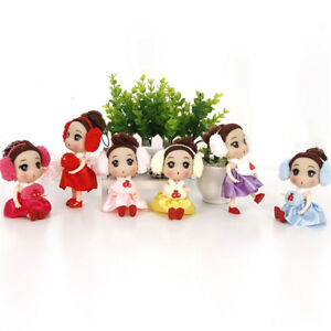 12cm Mini Cute Ear Phone Confused Doll Best Toy Gift Doll For Girl^