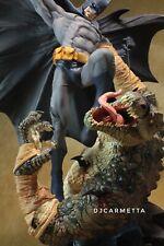 Batman vs Killer Croc statue 1° edizione DC direct DC Universe Dc collectibles