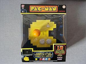 Pac-Man Spielekonsole Connect & Play (12 Classic Games) Bandai Namco - Neu & OVP