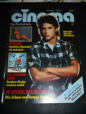 "ROB LOWE, Cinema Magazine front cover [ 8 1/2"" x 11""] - May 1986"