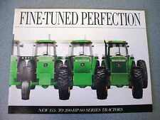 John Deere 4560, 4760, 4960 Tractor Brochure 24 Pages