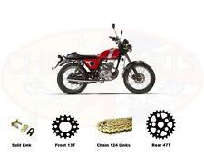 Honda CBR1100 XXT-XXY Blackbird 1996 DID Gold X-Ring Chain 50VX 530 GB x 110