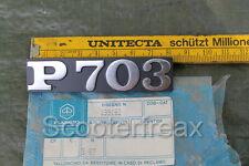 Vespa Ape P703 Emblema NUEVO NOS 199163 Divisa Placa Emblema Piaggio
