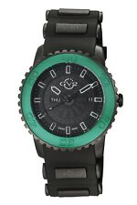 GV2 by Gevril Men's 9705 Aurora Luminous Green Limited Edition Silicone Watch
