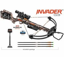 Wicked Ridge Invader G3 3x Multi-Line Scope Camo Crossbow Package WR15005-7536