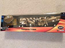 HOT WHEELS RACING TRANSPORTER TRIBUTE CALE YARBOROUGH SEMI TRACTOR TRAILER NIB!!