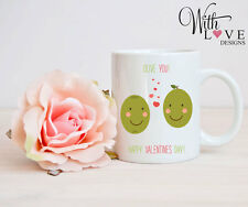OLIVE YOU MUG CUP PERSONALISE WEDDING ANNIVERSARY VALENTINES DAY PRESENT GIFT